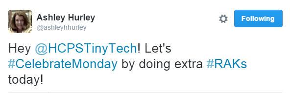 Ashley's Tweet
