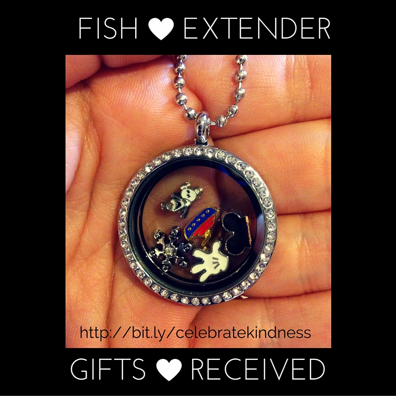 Fish Extender Gifts Received Blog Logo