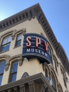 A photo of the International Spy Museum in Washington, D.C.
