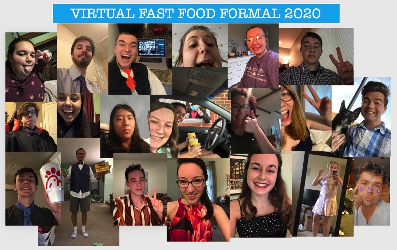 Fast Food Formal Collage